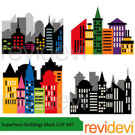 city buildings clipart - photo #27