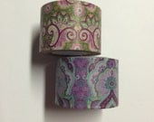 Washi tape 2 pack 10 yards each Paisley - 30 mm wide