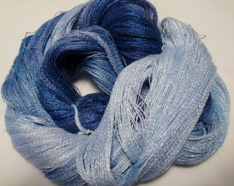 Hand dyed Tencel Yarn - 900 yds. Lace Wt. Tencel Yarn  ROYALTY