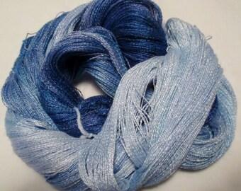 Hand dyed Tencel Yarn - 900 yds. Lace Wt. Tencel Yarn  ROYALTY
