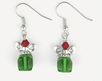 Christmas Gift Crystal Earring
