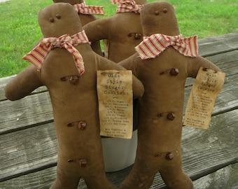 Primitive Gingerbread man