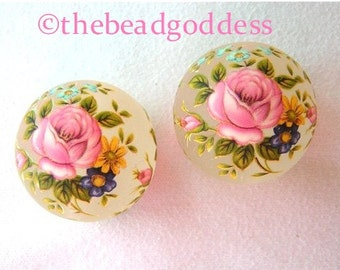 Beautiful 12mm Japanese TENSHA Beads Pink Rose Frost Variations 2-5-10