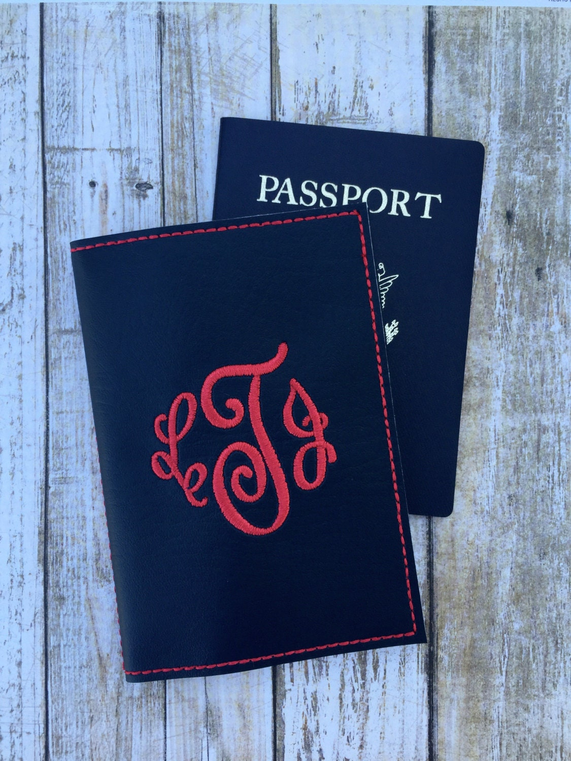 Personalized Passport Cover For Her Custom Passport Cover