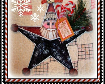 Apple Tree Cottage Original Design E Pattern - Santa Star Pocket