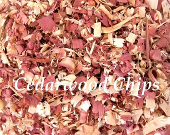 Cedar Wood Chips, Shavings - Moth, Insect Organic Repellent,  Red Cedar USA-Grown, 100% Natural Untreated  - 10 Cups