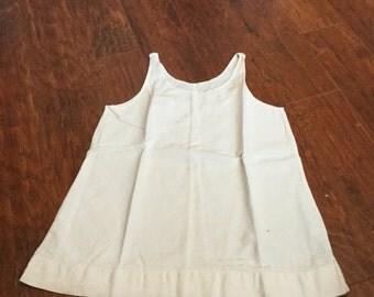 Depression era hand made feed sack/ muslin undergarment