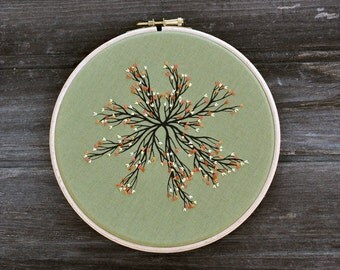 Tree from Theart VII - fiber art wall hanging