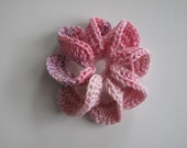 Crochet flower,Crochet Applique Flowers ,1 pcs,cotton,degrade