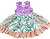 Seven Dwarf custom boutique dress Momi birthday vacation dress