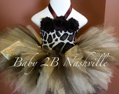 Baby  Brown GiraffeTutu O...
