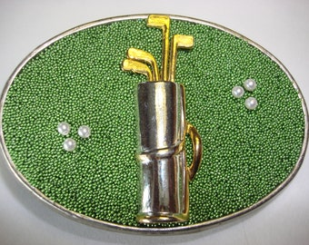 Golf Lovers Belt Buckle