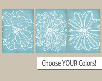 light blue bathroom wall art canvas or prints blue bedroom pictures dahlia flower