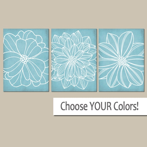 Light Blue Bathroom Wall Art Canvas Or Prints Blue Bedroom Pictures Dahlia Flower