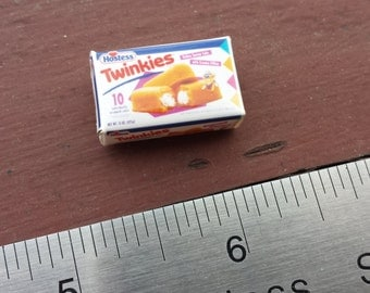 Miniature Twinkie Box