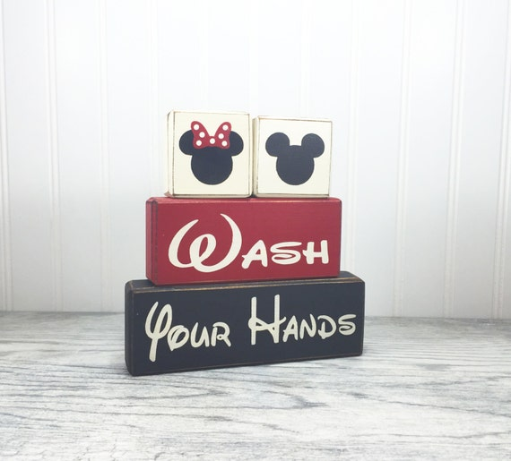 mickey mouse minnie mouse bathroom decor kids by