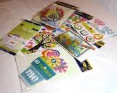 Embellishment Kit - Hello Spring/Easter My Little Yellow Bicycle  - kitsnbitscraps
