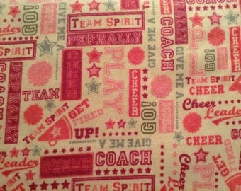 CHEERLEADER flannel lounge pants children's sizes 0-3 to 16. Contact me for adult size to 3X.