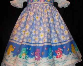 CARE BEARS BORDER Jumper Dress Custom Size