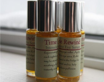 Intensive Eye Serum--TIME REWIND//Rejuvenating//Eye Care//Hydrating and Soothing//Rose Hip Oil//Face Care