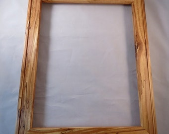 11x14 Spalted Yellow Birch Picture Frame GG