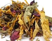 Herbal Tea 1 oz. Size - 40 Varieties/Flavors - Caffeine and Sugar Free, Tea, Tea Party, Tisane, Herbal Tea, Loose Leaf Tea, Suntea