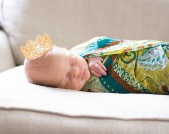 Newborn Lace Crown {gold crown, silver crown, newborn crown, pink crown, glitter crown}
