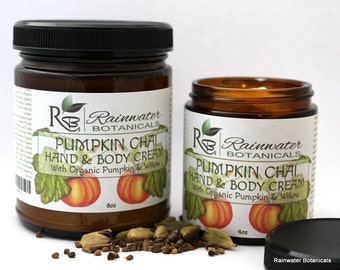 Pumpkin Chai Hand & Body Cream