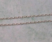 2 MM Link Chain, Forever Silver,  1 Meter, AS378