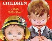 Valentines Day Sale 1952 Prayers for Children, Boys & Girls, by Eloise Wilken I Thank Thee, Lord, Morning Prayer retro 1950's Christian Fait