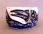 Taos Raven Yarn Bowl with Moon Original Design