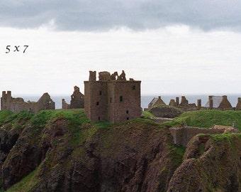 Dunnottar Castle, Scotland Photograph, Castle Photo, Fine Art, Highland Print, For Tartan Day, Wall Decor, Office Print, Castle By The Sea
