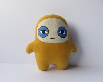 Kids Toys Plush Stuffed Gold Glum Ninja Doll
