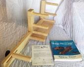 Schacht Inkle Loom Belt Shuttle Warping Instructions & Inkle Weaving book by Helen Bress