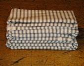 Ticking Material Scrap | Material Scrap Bundle | Stripe Material | Scrap Material Bundle