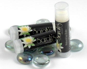 Unflavored Lip Balm - Paraben Free Lip Balm - Handcrafted Lip Balm - Unflavored - Moisturizing Lip Balm - Maine Made