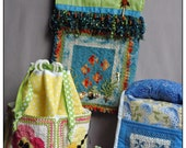 A Season of Tatted Mini Quilts Printed Pattern - Summer