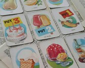 vintage game cards - vintage game card ephemera