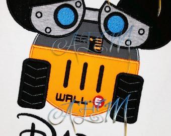 Wall-E Personalized Shirt Kids and Adults