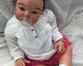Sweet CUSTOM AA African American Biracial Ethnic Reborn Toddler Baby