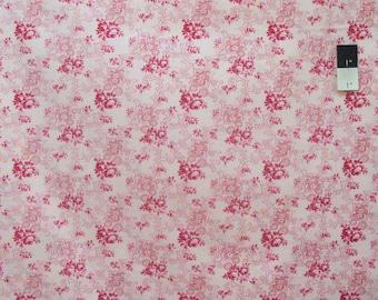 Verna Mosquera PWVM098 Billet Doux Petite Bouquet Cherub Cotton Fabric By Yd
