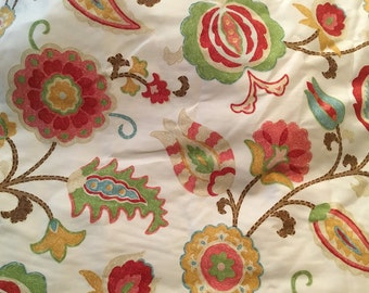 Funky Floral Print  - 4 1/2 yards