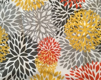 Premier Prints Indoor/Outdoor Bloom Fabric - 4 1/2 yards