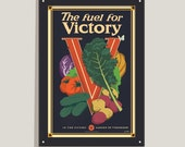 The Fuel for Victory - 12x18 poster