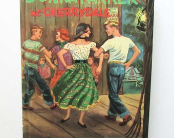 Vintage 1957 Donna Parker at Cherrydale Juvenile Girl's Mystery Book, Whitman Publishing, Super Clean