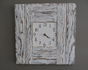 Rustic Barn Wood Wall Clock