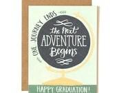 Globe Graduation Illustrated Card//1canoe2