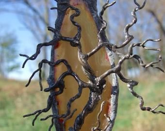 TEENY TINEY ~ Tree of Life Agate