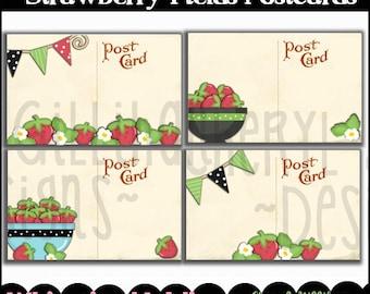 Strawberry Fields Postcards