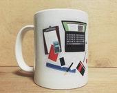 Messy Desk Mug
